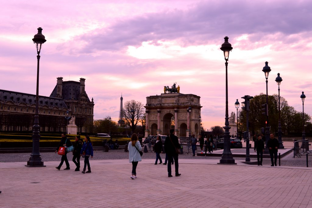 4. Arc de triomphe Tuileries