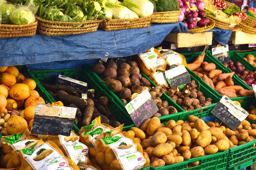 Marché Aligre - Légumes