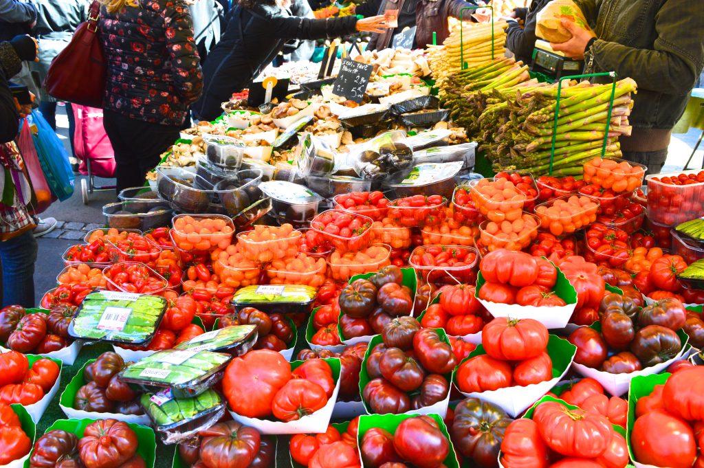 Marché Aligre - Tomate