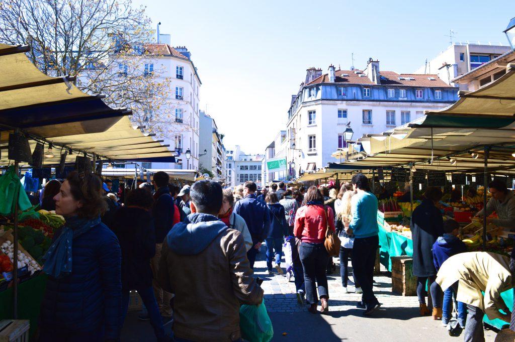 Marché Aligre - Foule