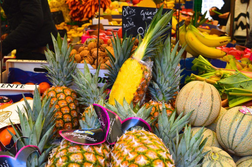 Marché Aligre - Ananase