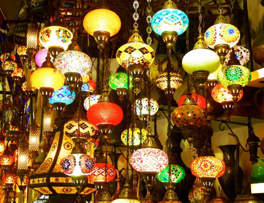 Istanbul - Lampes - bazar