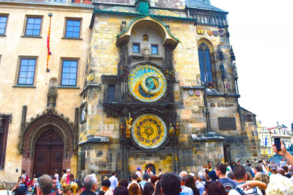 Prague Vieille Ville Et Horloge Astronomique Prague